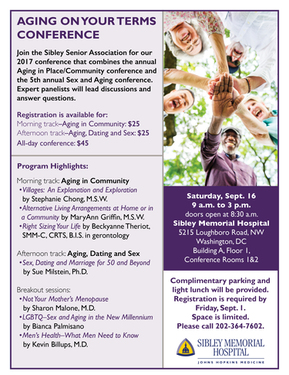 Aging on Your Terms Conference