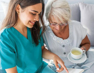 Home Care - Receive assistance at home