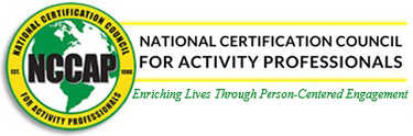 Resources to deliver life-enriching activities from National Certification Council for Activity Professionals