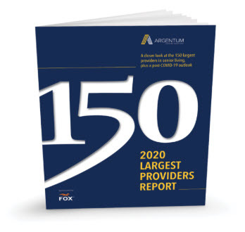 2020 List of 150 Largest Providers in Senior Living